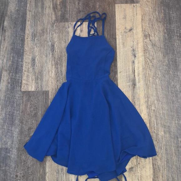 Lulu's Dresses & Skirts - royal blue lulus homecoming dress